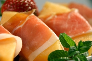 Prosciutto Ham With Melon