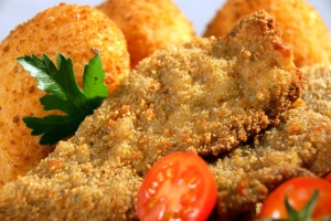 Cutlet pieces and Arancini Platter