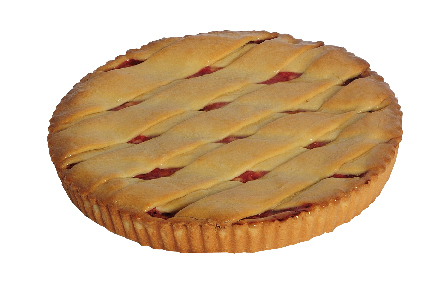 Apple, Rhubarb and Raspberry Tart