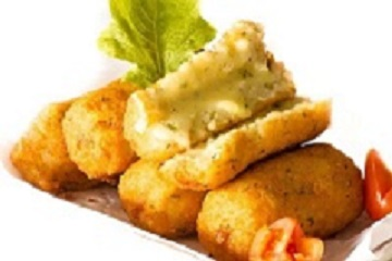 Cheese & Herb Potato Croquettes